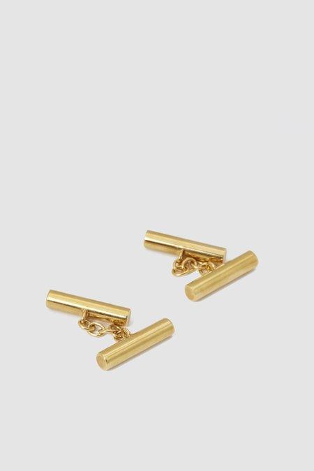 Codis Maya X FSC Flume Cufflinks - Gold