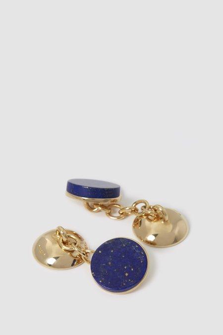 Codis Maya X FSC Cufflinks - Gold/Lapis