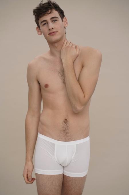 moi-basics boxerbrief - white