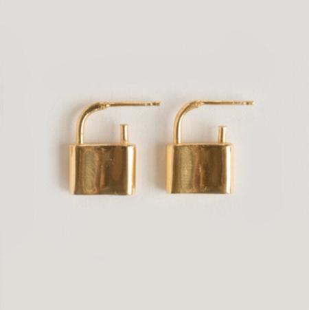 Merewif Holmes Earrings - Gold