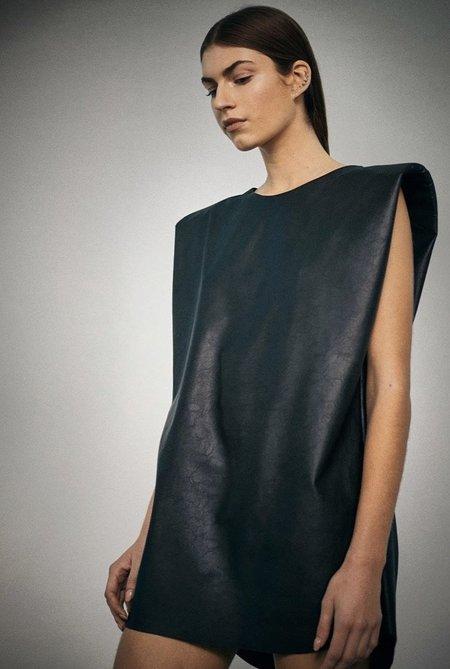 NONCHALANT label Imogen Vegan Leather Dress