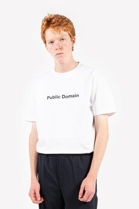 Soulland Public Domain T Shirt - White
