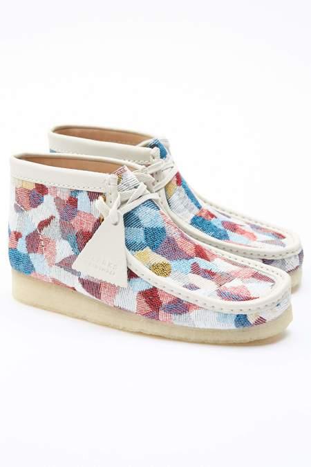 Clarks Wallabee Boot - Woven Multicolor
