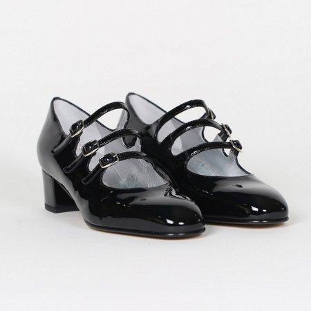 Carel Kina Babies Patent Leather Mary Janes - Black