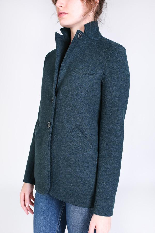 Harris Wharf London Outdoor jacket in teal