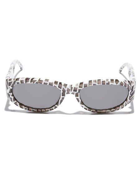 Unisex CRAP EYEWEAR The Funk Punk Sunglasses - Psychedelic Brick