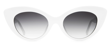 CRAP EYEWEAR The Wild Gift Sunglasses - White Acetate