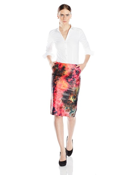Busayo NYC  Fola Kaleidoscope Skirt