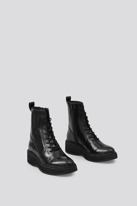 Rachel Comey Halt Patent Leather Boot - Black