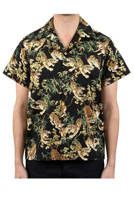 Naked & Famous Aloha Shirt - Japanese Tigers