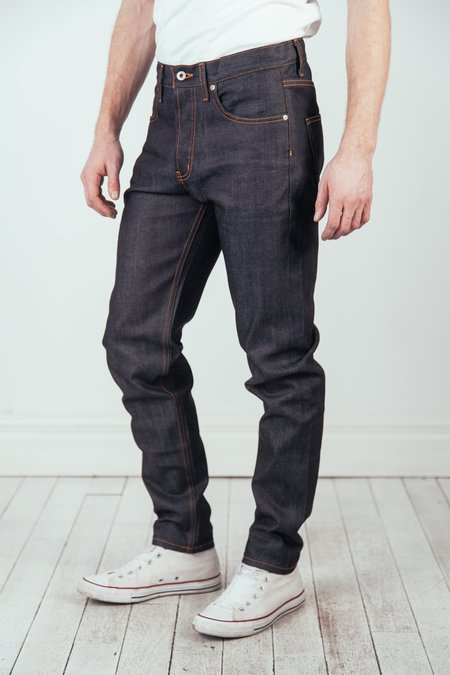 Naked & Famous Easy Guy Jean - Indigo