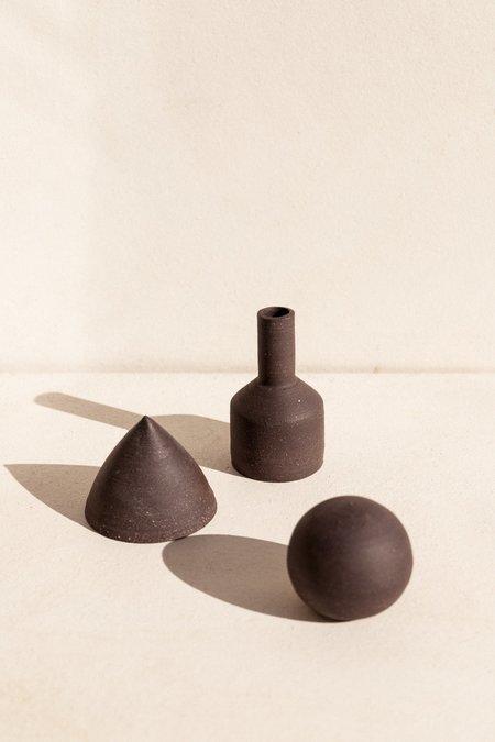 Asobimasu Clay Trio of objects