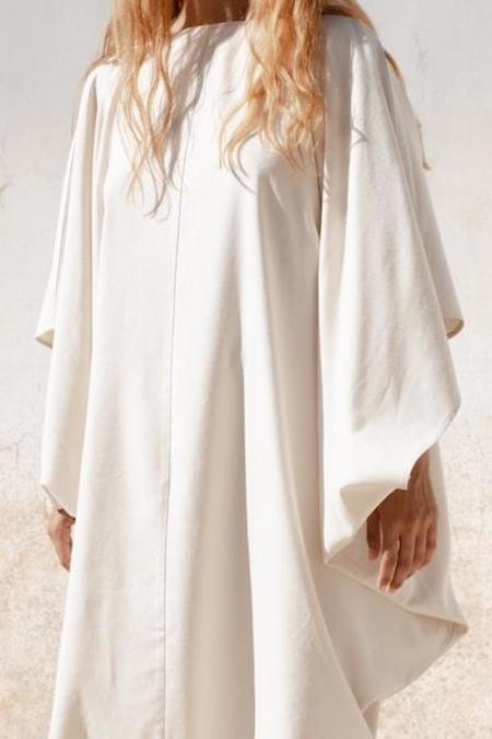 Baserange Fortuna Dress - Ecru