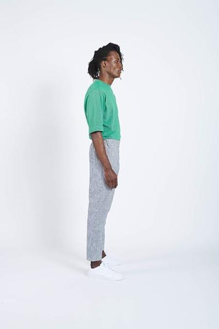 House of the Very Islands Front Axle Pants - White/Navy