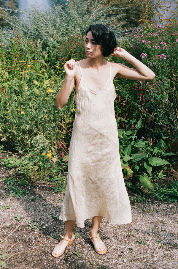 Anaak Scarlette Slip Dress Natural