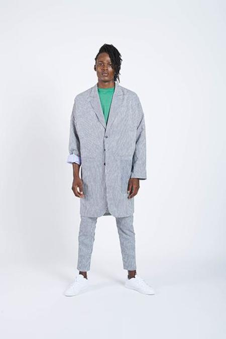 House of the Very Islands Jump Start Coat - Navy/White