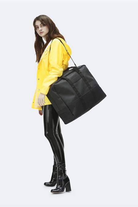 Rains Luggage Bag - Black