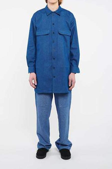 House of the Very Islands Profit Shirt - Bright Blue