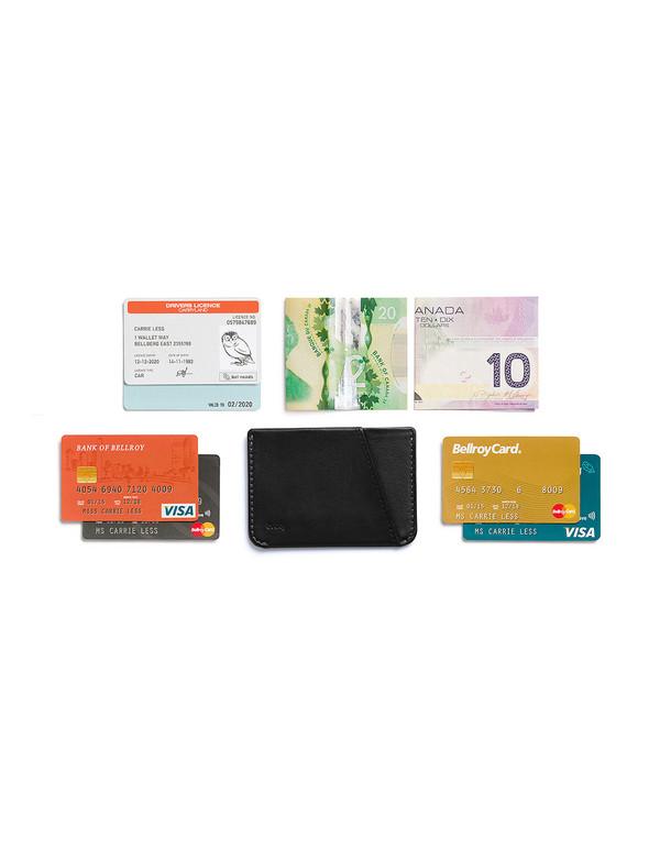 Bellroy Micro Sleeve Wallet Black