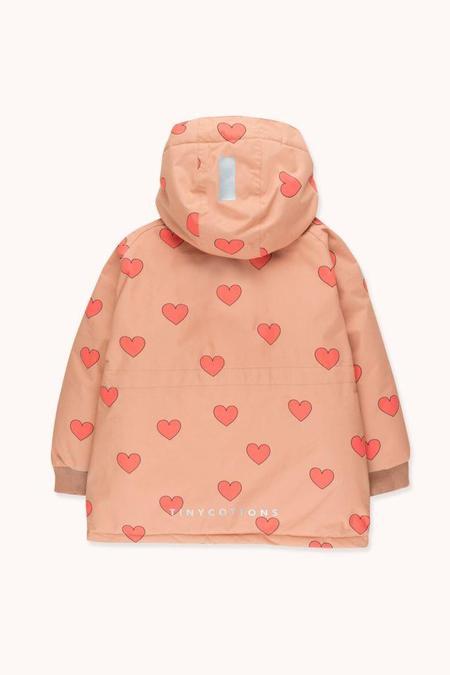 Kids Tinycottons Hearts Snow Jacket