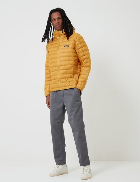 Patagonia Down Sweater Hooded Jacket - Buckwheat Gold