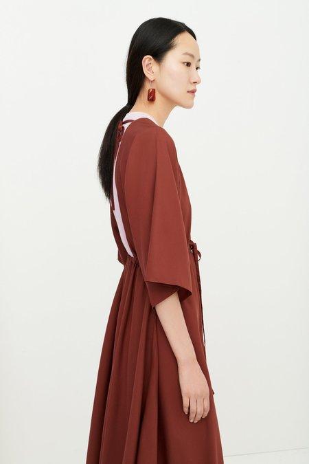 Kowtow Bessie Dress - Mahogany