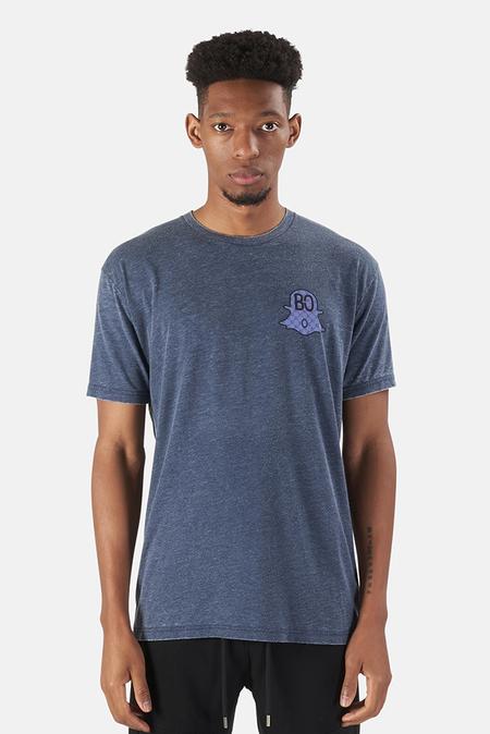 KINETIX x Blue&Cream Ghost Graphic T-Shirt - Navy