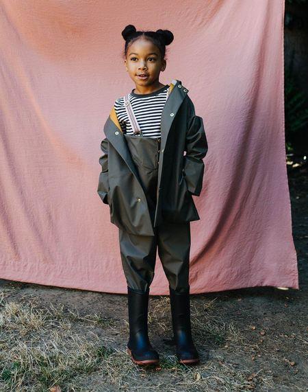 kids Faire Child Rain Pant - Ash