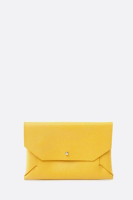 Phi 1.618 Maxi Card Holder - Yellow