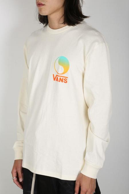 Vault By Vans X Free & Easy Ying Yang Long Sleeve - Antique White