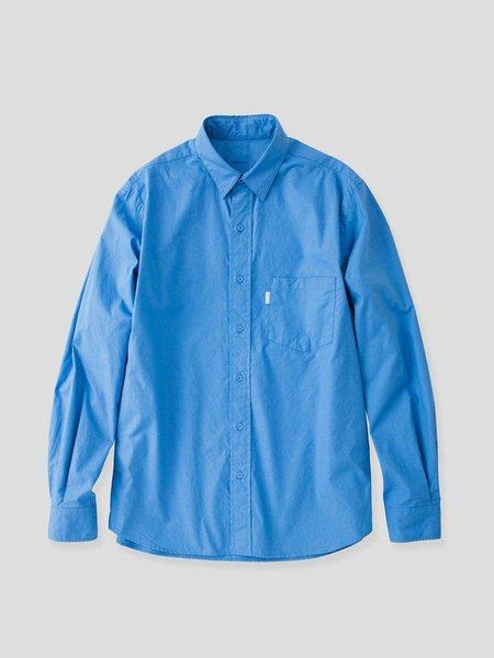 S H SH-GMBT-001 Regular Collar Shirt - Blue