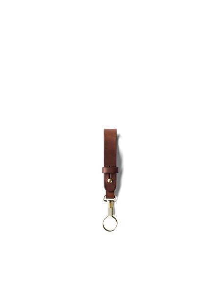 Tanner Goods Key Ring Lanyard Cognac