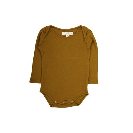 KIDS Omibia Charter Baby Body - SAFFRON