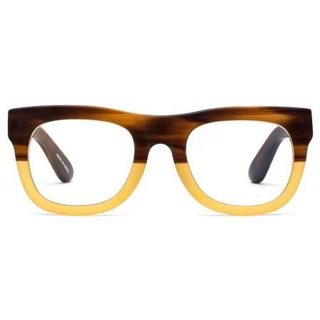 Unisex Caddis D28 Readers Sunglasses - Bullet Coffee