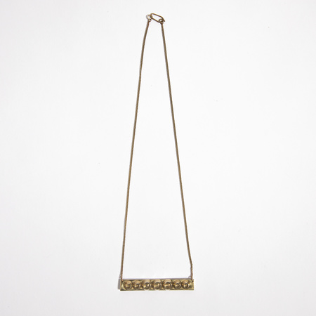 Aesa Infinite Horizons Necklace - bronze