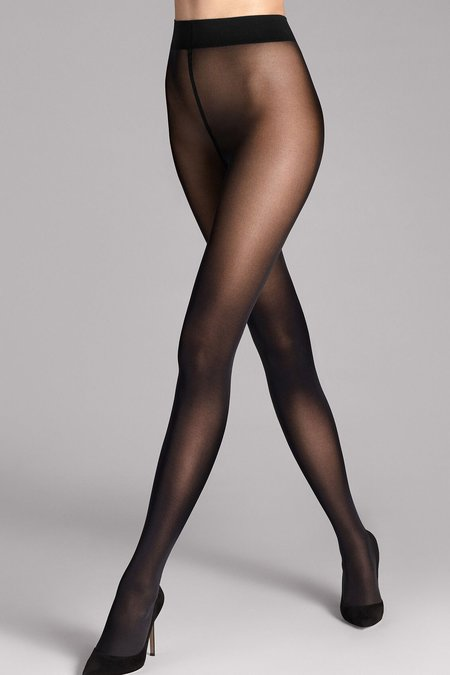 Wolford Pure 50 Opaque Tights - Black