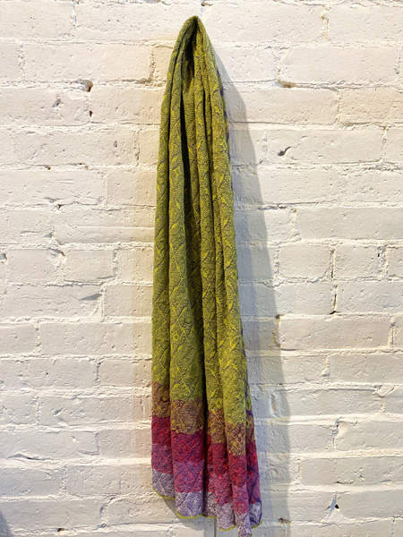 Catherine André Cueca Scarf - Green