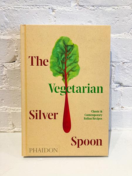 """Phaidon """"The Vegetarian Silver Spoon"""" Book"""