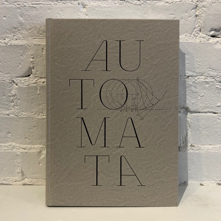 "Editions Xavier Barral ""Automata"" by Nicholas Foulkes Book"