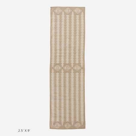 Pendleton Cotton Woven Dhurrie Rug - Harding Tan