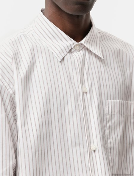 mfpen Distant Shirt - Cream Stripe