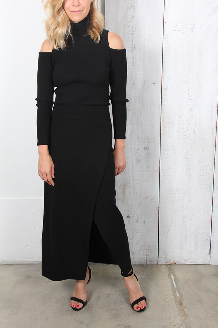 A.L.C. MULLER STRETCH MIDI SKIRT