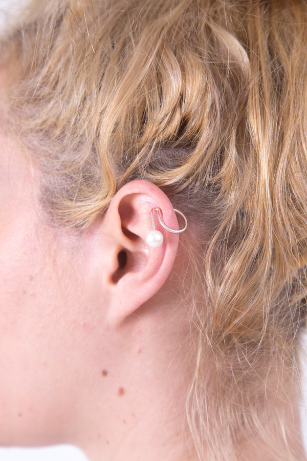 FAUX/Real I Can Hear You Ear Cuff