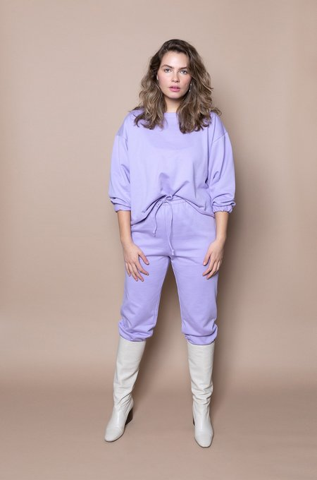 Soft Focus The Taper Jogger -Lilac