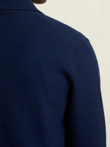Alex Mill Boiled Wool Work Jacket - Navy