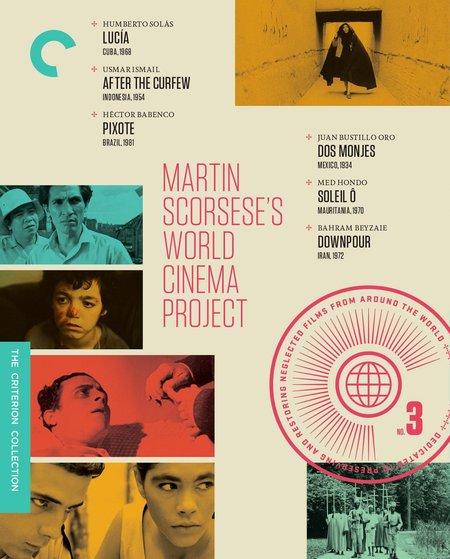 "Criterion ""Martin Scorsese's World Cinema Project No. 3"" Films"