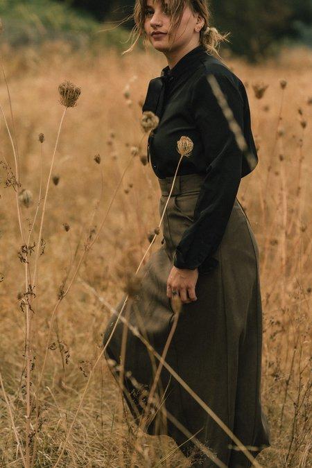 Field Day Tencil Oliva Skirt - Olive