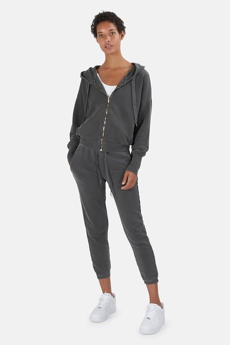 NSF Kaia Zip Hoodie Sweater - Pigment Black