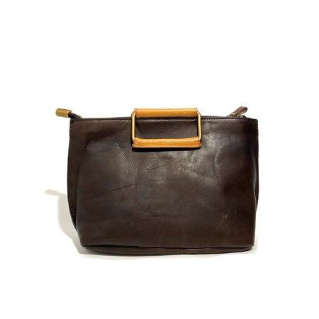 Uppdoo Joy Handle Bag Small - Chocolate
