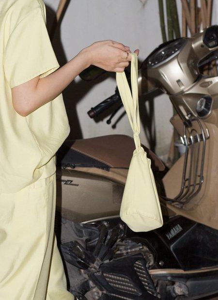 KAAREM Gemini Drawstring Mini Bag - Lemon